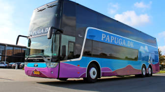 Danish Coach Award til Papuga A/S for Scania-bus