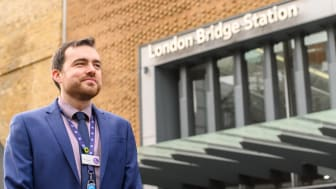 Tom Easdown, Accessibility Champion, London Bridge 2