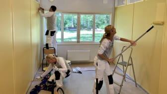 Nordsjö inleder ett färgstarkt samarbete med Stiftelsen Malmö Sommargårdar
