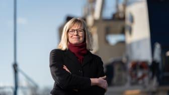 Sjöfartsverkets generaldirektör Katarina Norén | Foto: Niclas Fasth/Sjöfartsverket
