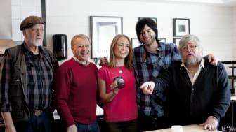 Tranbär och citrontimjan  utsedd till Årets Sill 2012