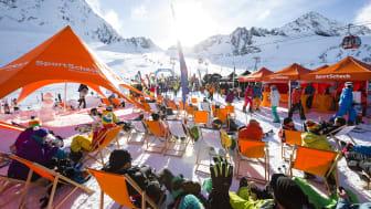 Das GletscherTestival ist der größte Skitest der Alpen.