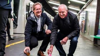 Sporveissjef Cato Hellesjø og ruskengeneral Jan Hauger