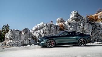 Nový Ford Mustang BULLITT slaví na autosalonu v Ženevě svoji evropskou premiéru.