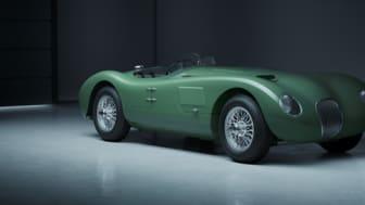 Jaguar Classic feirer sin legendariske Le Mans-dobbeltvinner  med et begrenset antall C-Type Continuation-modeller