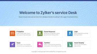 Som vanlig användare får du en portal där du får tillgång till alla tjänster organisationen erbjuder dig inklusive kunskapsdatabas.