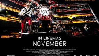 MUSE – Live at Rome Olympic Stadium:  Ny DVD og Bluray slippes 29 november