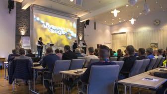 Patrik Eriksson, senior advisor på SSG, pratar på SSG Elansvarsträff 2018.
