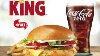 Veggie King er blitt spesielt populær i de største norske byene. (Foto: Burger King)