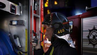 Nordsjællands Brandvæsen under övning