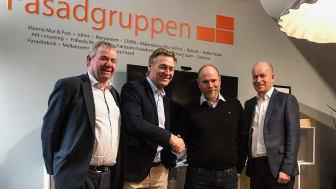 Björn Ogenstam, Mikael Karlsson, Andreas Illerfelt och Jan Leife