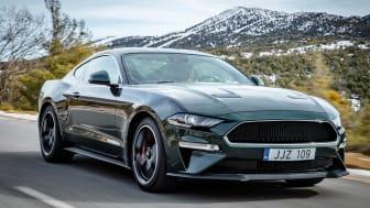 En specialversion av den legendariska Mustang-modellen Bullitt kommer börja säljas i Sverige och Europa senare i år.