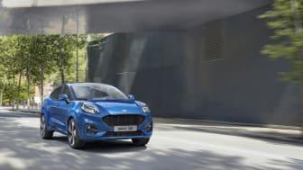 Puma – cel mai bine vândut model al gamei Ford în primul trimestru al acestui an; Ford reconfirmă poziția de lider de piață în segmentul de vehicule comerciale
