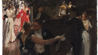 """""""Valsen"""" av Anders Zorn kommer att säljas på Important Winter Sale 10–11 December. Utrop 5 000 000 - 7 000 000 SEK."""