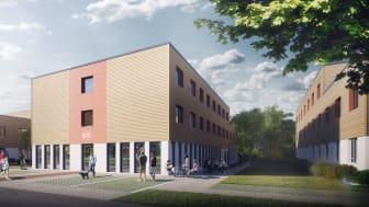 Neue Studentenapartments in Potsdam-Golm (Copyright: Triton Development GmbH)