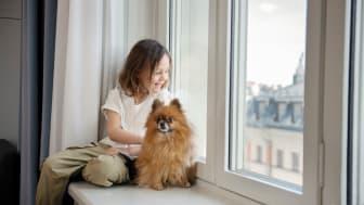 Scandic-hotelleissa viihtyy koko perhe. Myös nelijalkaiset ystävät on huomioitu lemmikkiystävällisissä hotelleissa.