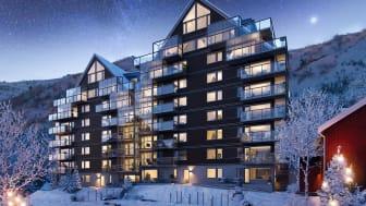 Säljsucce för Björn Daehlies byggprojekt View i Åre