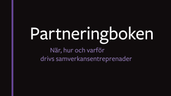 Foto: Partneringboken - omslag