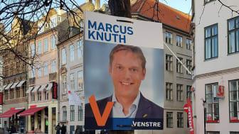 Venstre i hovedstadsområdet havde ved valget skiftet de traditionelle plastikplakater ud med papplakater.