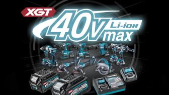 Den nya 40V Max XGT®-serien revolutionerar framtidens sladdlösa verktyg