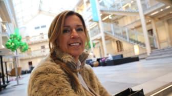 NY VD: Eva Nyh Hederberg blir ny vd för Åkroken Science Park som just flyttat in i nya lokaler i Grönborgs. Foto: Anders Lövgren