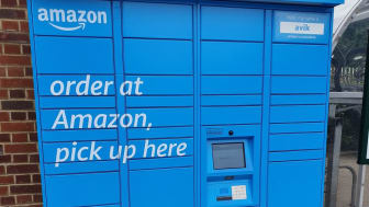 New Amazon Hub Lockers at Hassocks station