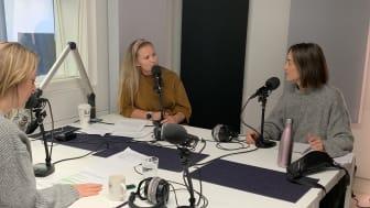 Anette Fjelleng Hansen, matfaglig rådgiver og Eilin Lundekvam By, ernæringsfaglig rådgiver i MatPrat er noen av våre eksperter du vil møte i podcasten.