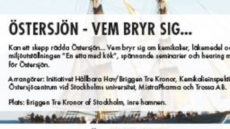 Välkommen till Initiativet Hållbara Hav och Briggen Tre Kronor i Almedalen!