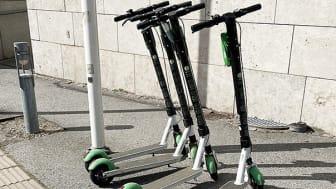 Elsparkcyklar regleras på Malmö sjukhusområde