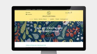 Familjebutiken Växjö Elektriska storsatsar på nätet
