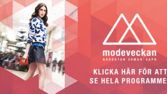 Lokala Göteborgsdesigners i fokus på Nordstans första modevecka