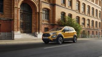 A Ford ma bemutatja a Ford EcoSport kompakt SUV új Active változatát