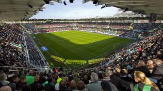 Ny hyresmodell på Got Events elitarenor för fotboll