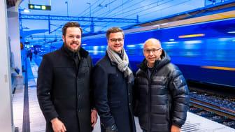 Joakim Berg, Norrtåg, Jonas Dahlberg, Nolia och Christer Berglund, Vy Tåg.