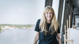 Sue Clark, blivande projektledare med inriktning mot hållbarhet på Tengbom.