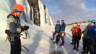 Abisko Ice Climbing Festival 2015