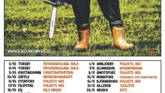 """Sissela Kyle regisserar ny humorsatsning """"Härifrån te Metbäcken"""" med Kjell Åke Myra i huvudrollen –på turné hösten 2014!"""