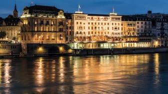 Grand Hotel Les Trois Rois Basel Aussenansicht