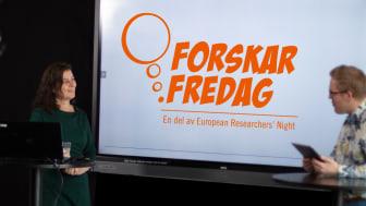 Det blir en rad spännande livesändningar från Stockholm under årets ForskarFredag