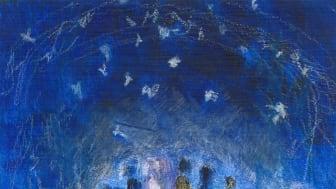 Coverbild des Flyers ‹Von Weihnachten bis Dreikönig am Goetheanum› von Christiane Haid