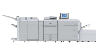 New Sensing Unit for imagePRESS C910 Series increases productivity by automating registration and colour calibration