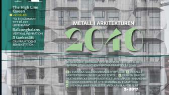 Omslaget till senaste numret av MIA (Metaller I Arkitekturen).