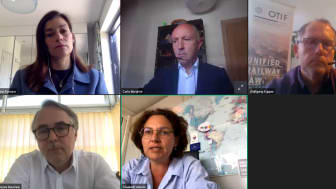 Global transport leaders present visions of post-COVID future in first IRS Rail Webinar