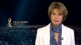 Felix Burda Award 2021: Gastgeberin Christa Maar