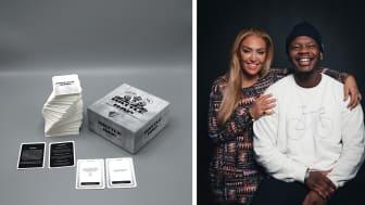 "Battle om svensk rap. Ametist Azordegan & Jaouli ""Finess"" Akofely. Foto: Streetchic Media."