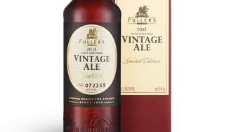 15 000 flaskor Fuller's Vintage Ale 2015 till Sverige