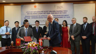 DEA and MOIT jointly launch Vietnam Energy Outlook Report 2017