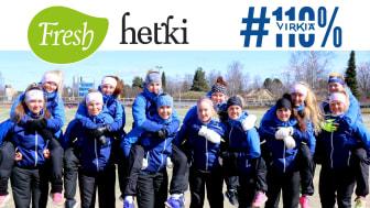 Fresh Servant ja Lapuan Virkiän Superpesis-naiset aloittavat yhteistyön 26.05.2017  Kautta aikojen menestyksekkäin naisten Superpesis-joukkue Lapuan Virkiä ja Fresh Servant ovat solmineet yhteistyösopimuksen.