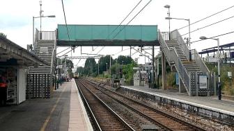 Royston footbridge