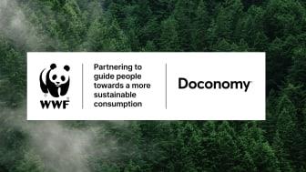 Doconomy och WWF i strategiskt samarbete för omställning till en mer hållbar livsstil